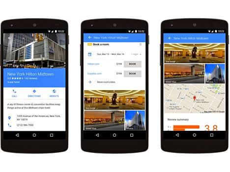 Googlen mobiilimainoksia