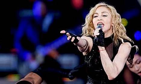 Madonnalla on tänään toinen konsertti Oslossa.