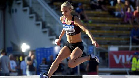 Camilla Richardsson kilpailee seuraavaksi Paavo Nurmen kisoissa Turussa 13. kesäkuuta.