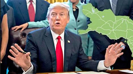 Trumpin Yhdysvaltojen infrastruktuurin kehittämisestä voisi olla hyötyä myös suomalaisille yrityksille.