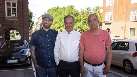 Joel ja Hjallis valittiin Helsingin kaupunginvaltuustoon, Roy edistää tulevalla kaudella Sipoon asioita.