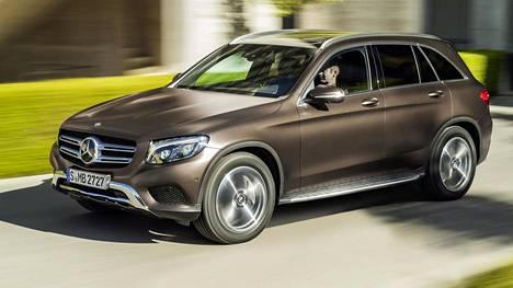 Suomessakin valmistettava Mercedes-Benz GLC kiilasi TÜV-raportissa sekä luokka- että kokonaisvoittajaksi.