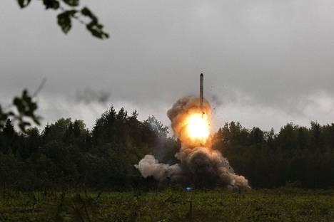 Zapad 2017 -sotaharjoituksissa syyskuussa testattiin myös Iskander-ohjuksia.