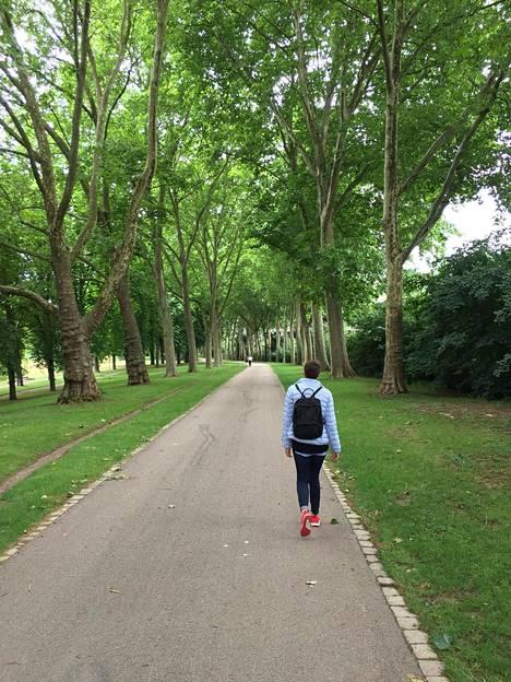 Stuttgartin keskustan tuntumassa Wilhelman puistoalueella on upeita ulkoilupaikkoja.