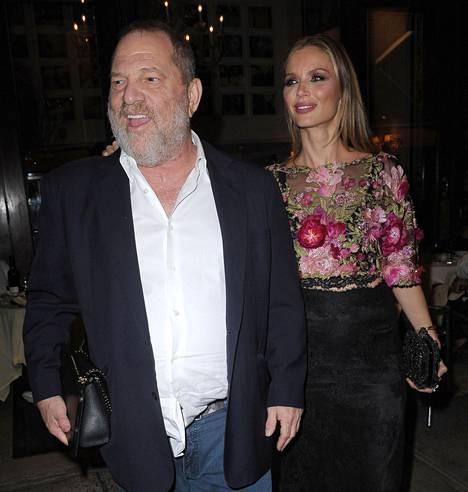 Harvey Weinstein ja Georgina Chapman avioituivat vuonna 2007.