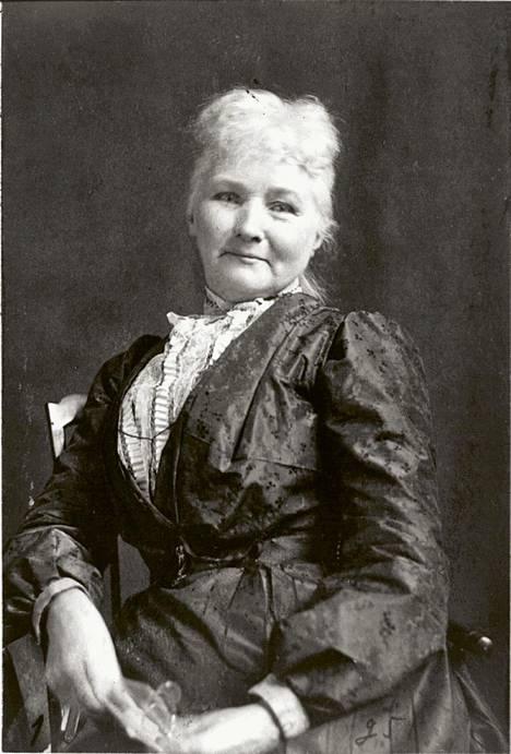 """""""Amerikan vaarallisin nainen"""" Äiti Jones (s. n. 1837) johti satoja työläisten lakkoja."""