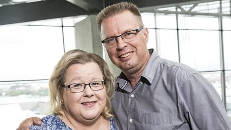 Markku ja Anne Saukko tulivat koko kansalle tutuiksi Huutokauppakeisari-ohjelmasta.