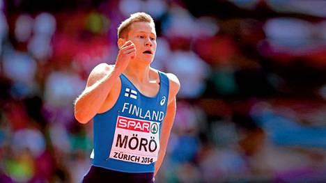 Urheilukesän sensaatio Oskari Mörö.