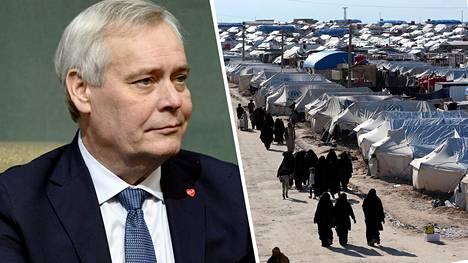 Pääministeri Antti Rinne ei sanonut suoraan, mitä Syyrian al-Holin leirillä olevien suomalaisten kanssa aiotaan.