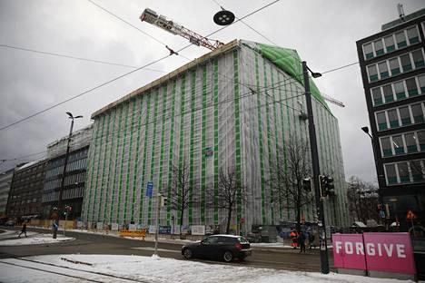 SRV ja kiinteistösijoitusyhtiö Antilooppi saneeraavat HOK-Elannon entisestä tavaratalosta toimitiloiksi. Taloon tulee myös ravintola- ja kahvilapalveluita.