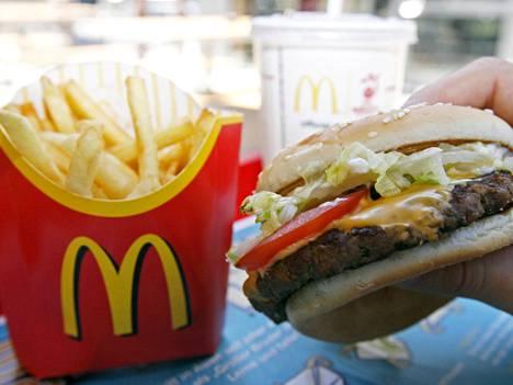 Pikaruokaketju McDonald's on Lontoon olympialaisten virallinen sponsori.