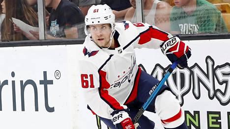 Viime kaudella Juuso Ikonen kiekkoili Washington Capitalsin organisaatiossa.
