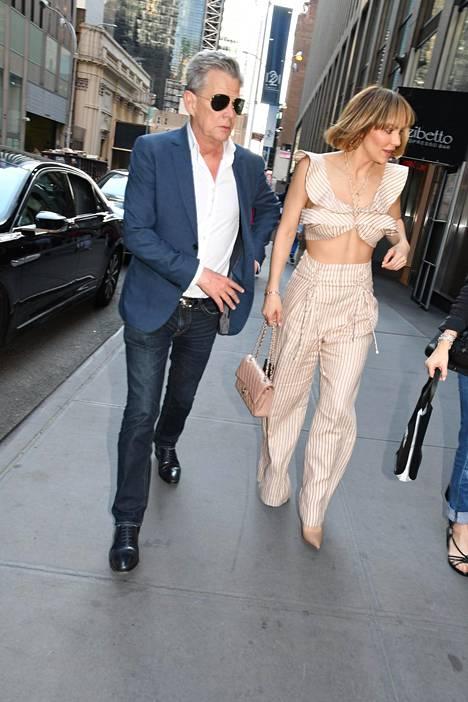 David Foster ja Katharine McPhee lounastivat New Yorkissa.