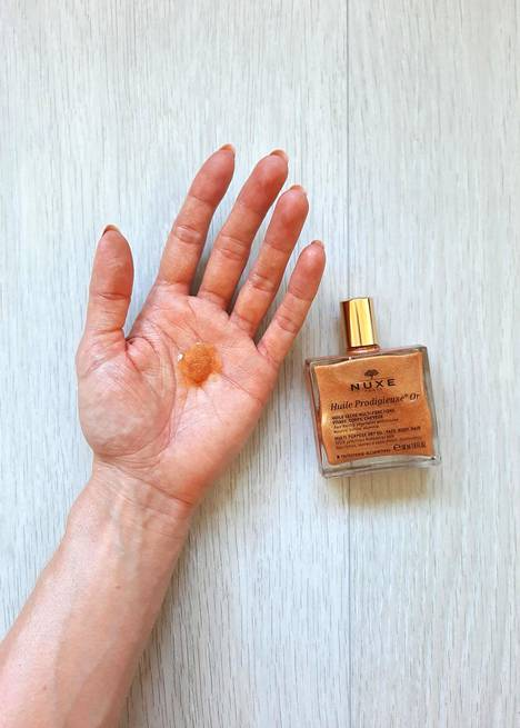 Nuxe Huile Prodigieuse Or Multi-Purpose Dry Oil, 31,50 € / 50 ml.