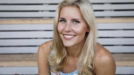 Kristiina Mäkelä oli tyytyväinen suoritukseensa lauantaina.