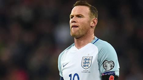 Wayne Rooney on Englannin jalkapallomaajoukkueen kapteeni.