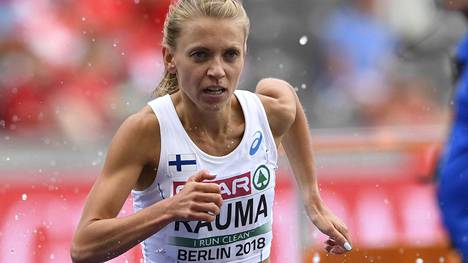 Janica Rauma parantelee jatkuvasti ennätyksiään.