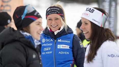 Kuvan 19-vuotias ruotsalaisnainen ei ole esiintynyt parrasvaloissa vielä kertaakaan – on silti hiihtopiirien kuumin puheenaihe