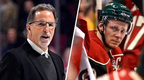 John Tortorellan (vas.) ja Mikko Koivun yhteistyö alkaa toden teolla kun seuraava NHL-kausi käynnistyy.