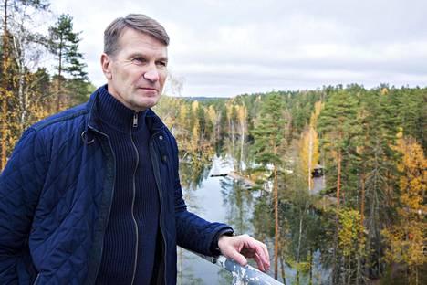 Erkka Westerlund näkee jääkiekon kehityssuunnan yksinkertaisena.