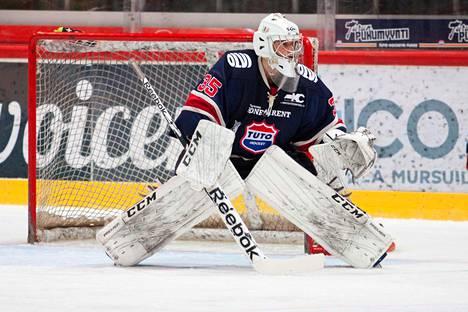 Filip Lindberg torjui Tuton maalilla peräti 48 A-nuorten SM-liigan ottelua.