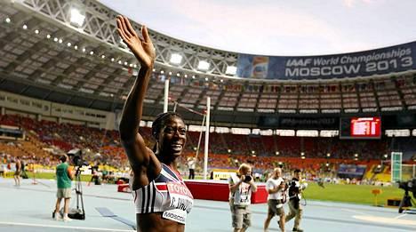 Christine Ohuruogu voitti naisten 400 metrin juoksun.