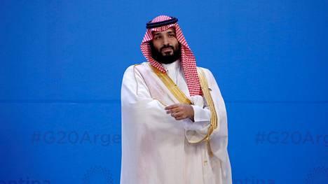 Kruununprinssi Mohammed bin Salman G20-kokouksessa Buenos Airesissa 30. marraskuuta 2018.
