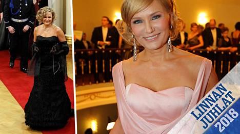 Kerran Eija-Riitta Korholan asu varastettiin Rooman lentokentällä, kerran hän ompeli laukkua kasaan vielä matkalla juhliin ja kerran suunnittelija olikin purkanut puvun palasiksi.