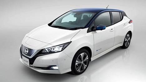 Uuden Nissan Leafin 2.Zero-lanseerausversio esitellään Euroopassa.