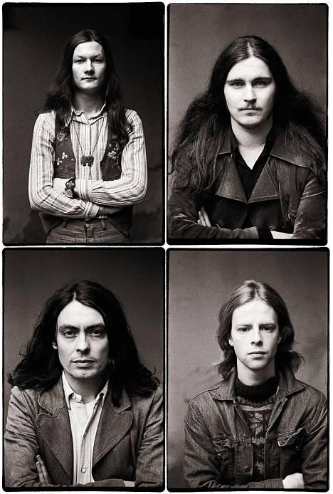 1970-luvun alussa Wigwam oli yhtä kuin Jukka Gustavson, Pekka Pohjola, Jim Pembroke ja Ronnie Österberg.