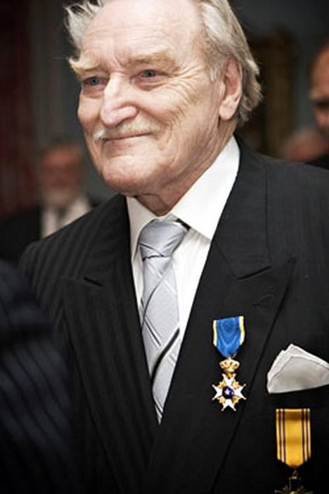 Åke Lindman sai tänään Ruotsin Pohjantähden Ritarikunnan 1. luokan Ritarimerkin.