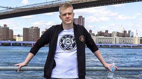 "Jani ""Aerial"" Jussila kuvattuna syyskuussa New Yorkissa."