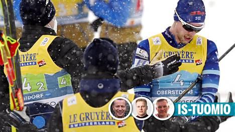 Tuomion antoivat Harri Kirvesniemi, Tatu Myllykoski ja Pekka Holopainen.