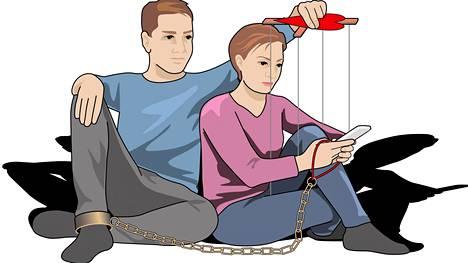 Tyypillisesti mustasukkainen vie yksityisyyden toiselta. Hän lukee viestejä ilman lupaa, painostaa epäilyksillään ja rajoittaa kumppanin menemisiä, käskee jopa tulemaan töistä kotiin kesken työpäivän.