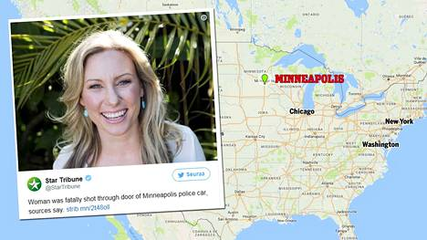Justine Damond soitti lauantai-iltana hätänumeroon raportoidakseen mahdollisesta rikoksesta. Kun poliisi saapui paikalle, Damondia ammuttiin poliisiautosta.