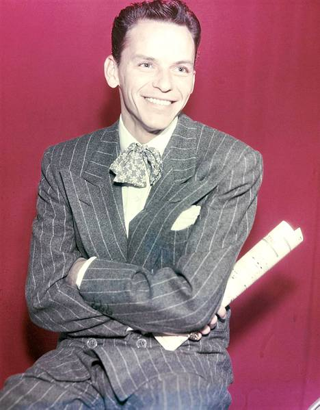 Sinatra 1940-luvun lopulla.