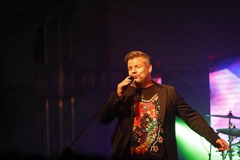 Jari Sillanpää esiintyi Joku paikallinen festareilla Sastamalassa 24. elokuuta 2018.