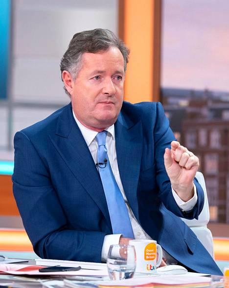 Kansan äänitorvena usein toimineen brittiläisen tv-tähti Piers Morganin mukaan Meghanin käytös on tekopyhää.