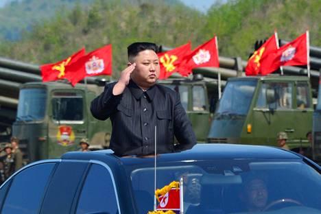 Viimeisimmäksi Trump on ajautunut törmäyskurssille Pohjois-Korean kanssa.
