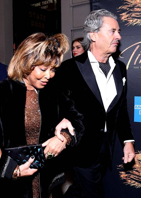 Tina Turner ja Erwin Bach New Yorkissa 2019.