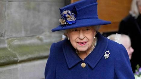 Kuningatar Elisabet ei osallistu Glasgow'n ilmastohuippukokoukseen.