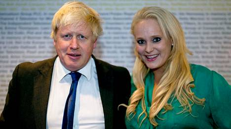 Boris Johnson ja Jennifer Arcuri.