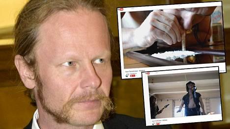 Perussuomalaisten kansanedustajan Juho Eerolan yhtyeen musiikkivideolla näkyy muun muassa viittauksia huumeiden käyttöön.
