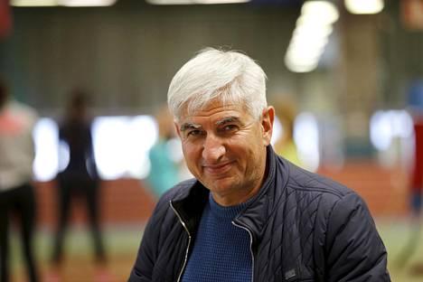 Suren Ghazaryan on työskennellyt Suomen pituushypyn ja kolmiloikan lajivalmentajana vuodesta 2015.