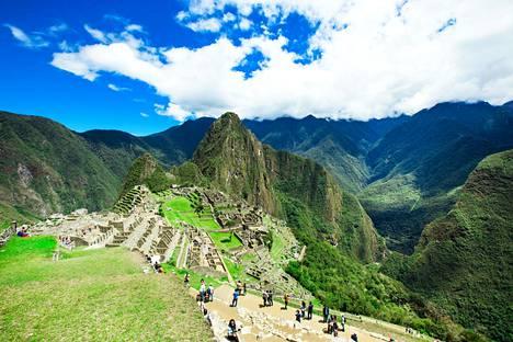 Machu Picchua ympäröivä luonto teki vaikutuksen.