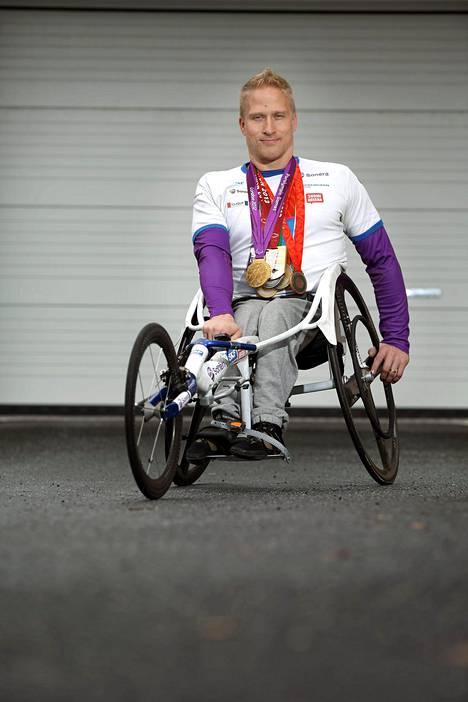 Leo-Pekka Tähti on viisinkertainen paralympiavoittaja.