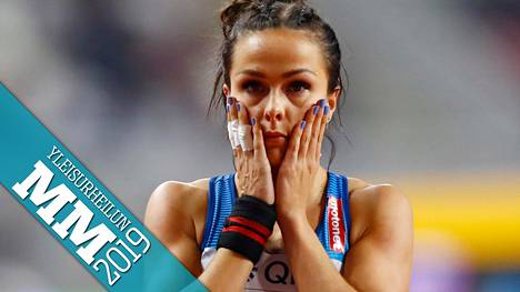 Maria Huntingtonin seitsenottelu Dohassa päättyi pahaan pettymykseen.
