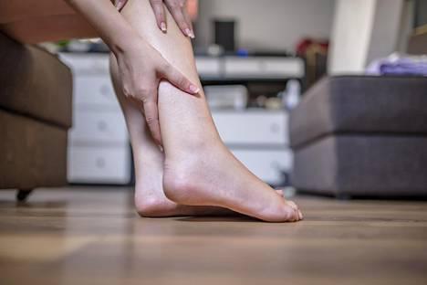 Jalkakrampit voivat viitata kakkostyypin diabetekseen.