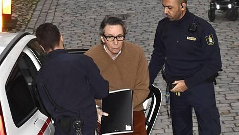 Jean-Claude Arnault saapui hovioikeuteen 14. marraskuuta.