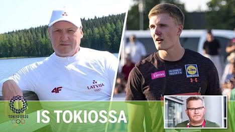 Kimmo Kinnunen (vas.) ei perustanut Oliver Helanderin (oik.) ratkaisusta.